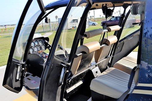 Helicopter, Galveston, Texas, Seawall Boulevard