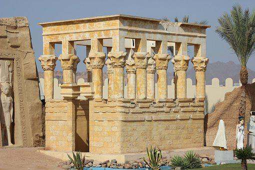 Egyptian Temple, Historic Site, Structure, Land Lot