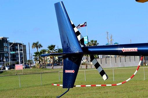 Helicopter Rear Rotor, Galveston, Texas