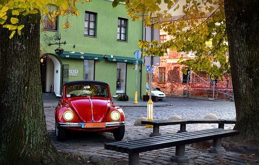 Beetle Car, Vintage Car, Antique, Old, Classic, Vehicle