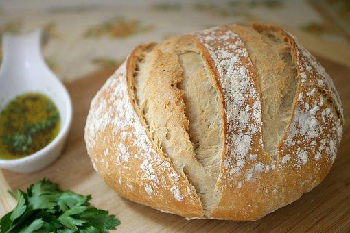 Fresh, Bread, Food, Bakery, Wheat, Brown, Healthy, Loaf