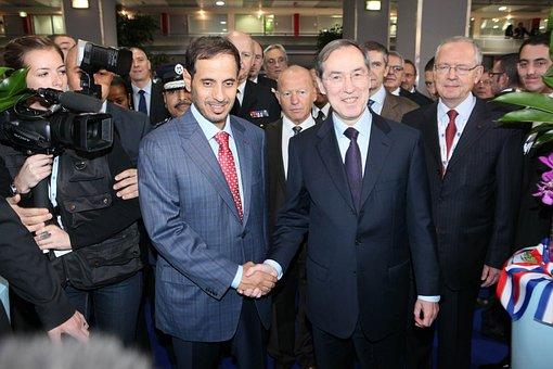 Milipol Claude Gueant, Politicians, Abdullah Bin