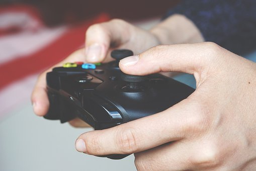 Video Games, Joy-stick, Games, Controller, Play
