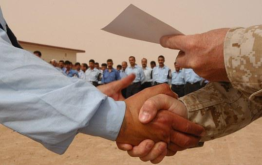 Men Shaking Hands, Handshake, Discount Certificate