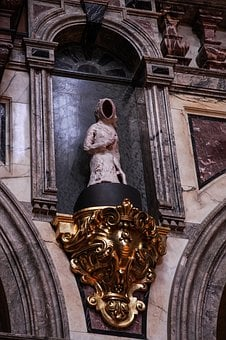 Faceless Sculpture, Old, Beautiful, Berlin Dom, Church