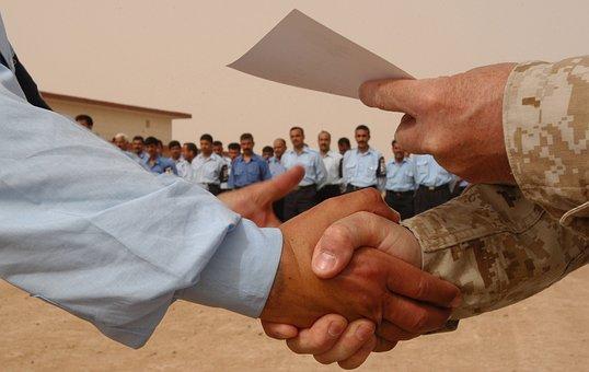 Men Shaking Hands, Handshake, Discount Certificate
