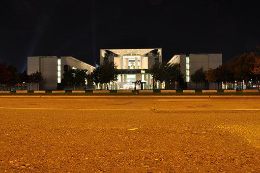 Chancellery, Berlin, Places Of Interest, Architecture