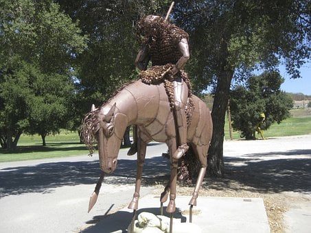 Statue, Horse, Hero, Monument, Historic, Famous