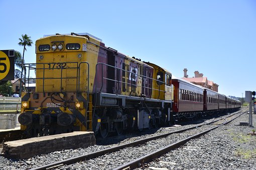Toowoomba, Train, Diesel, Travel, Australia, Road