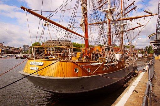 Ship, Yacht, Boat, Sea, Ocean, Travel, Water, Vessel