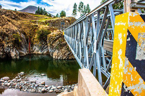 Bridge, River, Structure