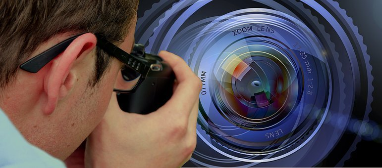 Photographer, Photograph, Lens, Copyright, Author
