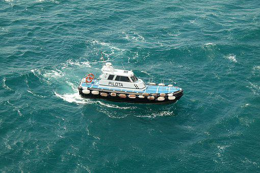 Boot, Ship, Water, Sea, Port Pilot, Drive