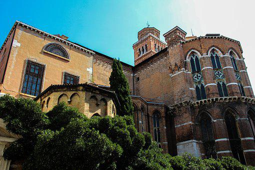Castle, Italy, Europe, Architecture, Landmark, Old
