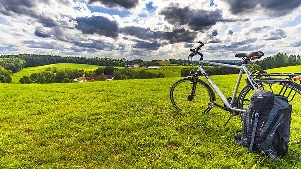 Bike, Outlook, Bavaria, More, Leisure, Nature, Rest