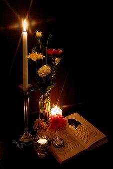 Candlelight, Goethe, Book, Read, Mood, Literature