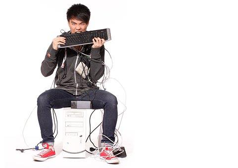 Man, Pc, Computer, Internet, Networking, Online