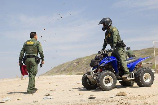 Border Patrol, Bike, Border, Patrol, Safety