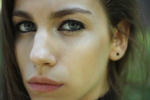Women's, Beautiful, Young, Model, Human, Portrait