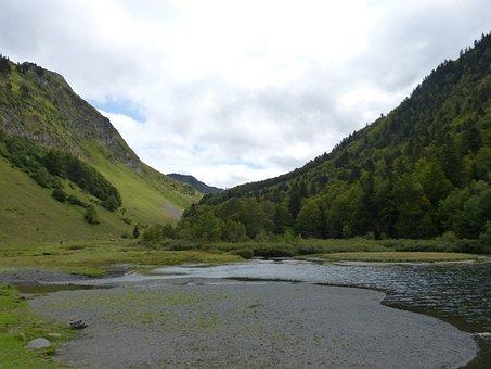 Pond, Landscape, High Mountain, Val D'aran