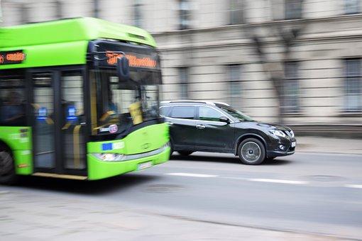 Bus, Trolleybus, Public Transportation, Traffic