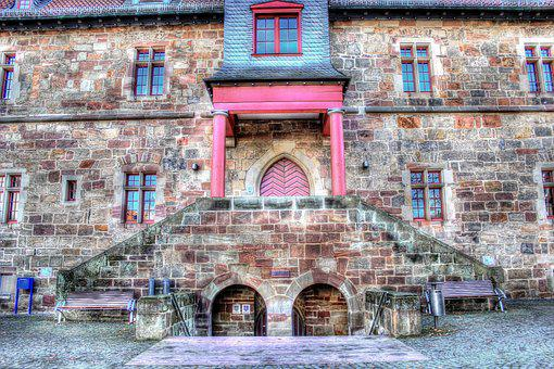 Stone Stairway, Sand Stone, Town Hall, Emergence