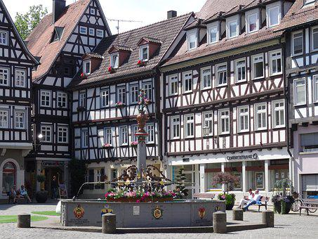 Schorndorf, Marketplace, Market Fountain