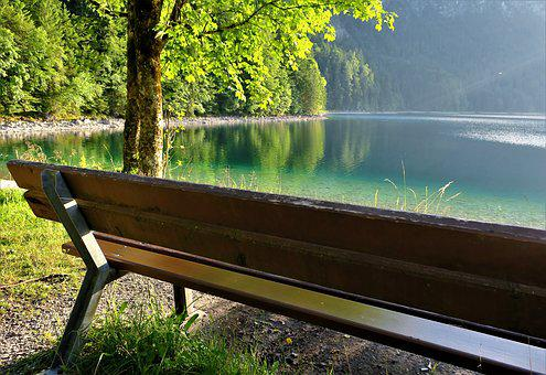 Bench, Break, View, Bank, Rest, Sit, Nature, Seat