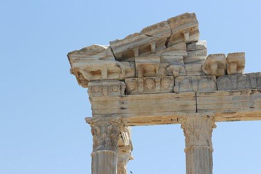 Side, Apollon, Temple