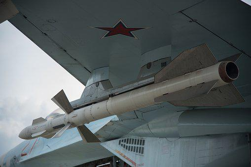 Su-27, Rocket, Wing, Fighter, Weapons, Military