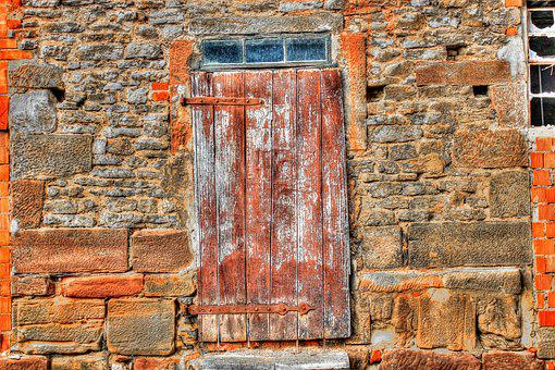 Scale, Old, Door, Wooden Door, Neglected, Window, Wood