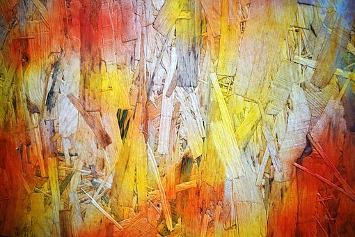 Paint, Pattern, Texture, Colorful, Yellow, Orange, Wood