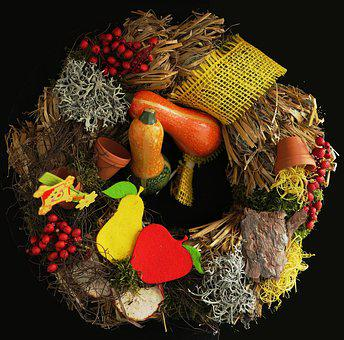 Autumn, Autumn Wreath, Herbstdeko, Bouquet, Bouquets