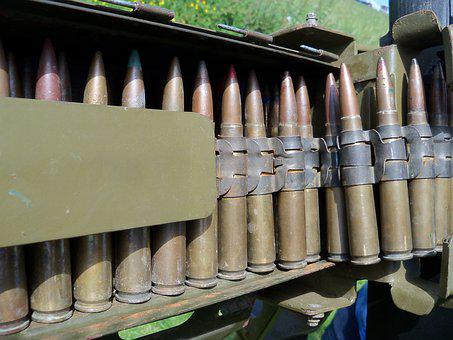 Cartridges Anti-aircraft, Second War, Landing Normandy