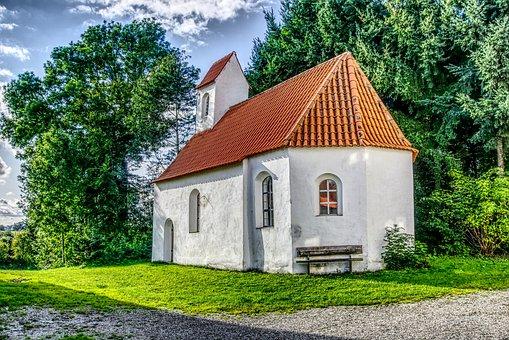 Chapel, Church, Faith, House Of Worship, Steeple, Bank