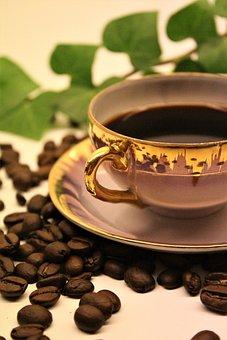 Coffee, Coffee Beans, Coffee Break, Tea Party, Aroma