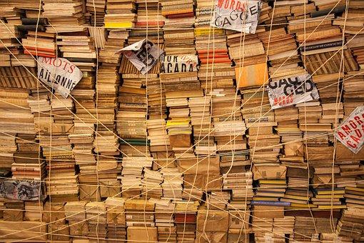 Book, Books, Rope, Library, Bieb, Color