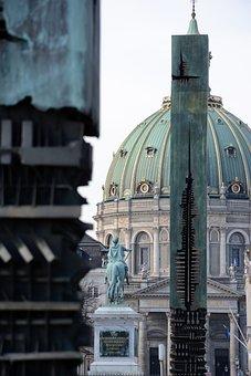 Copenhagen, Architecture, Building, Travel, Historic