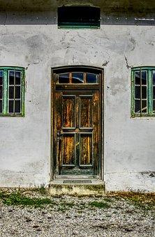 Door, Wooden Door, Old, Old Door, Wood, Input