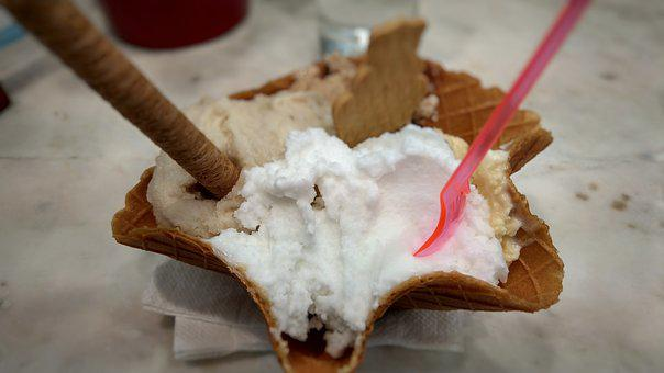 Gelato, Italian, Nafplio, Greece, Food, Icecream