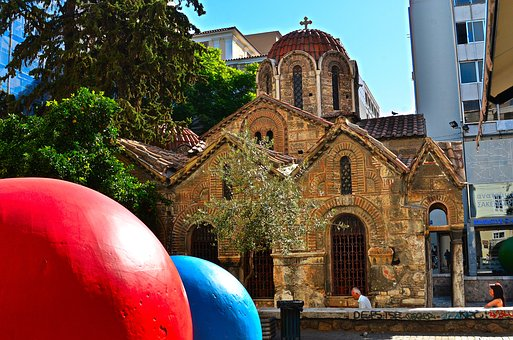 Greece, Athena, Culture, Churches, Ancient, Religions