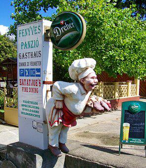 Guest Inviting You To A Puppet, Restaurant Advertising