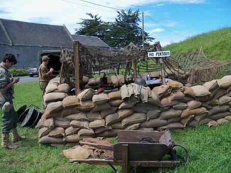 Field American, Second War, Landing Normandy