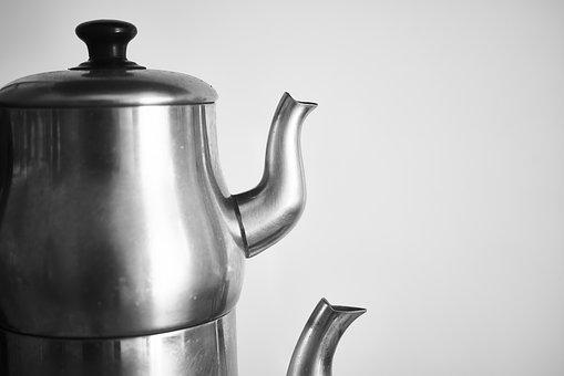 Teapot, Tea, Grey, Kitchen, Cook, Product Photo, Macro