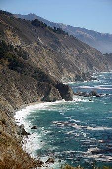 California, Pacific, Landscape, Usa, Ocean