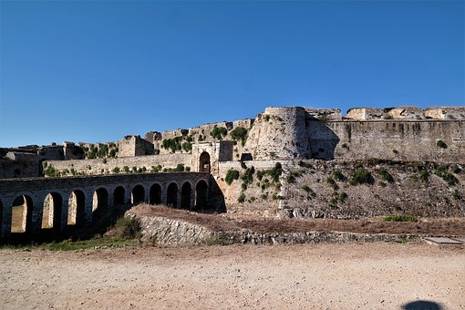 Castle, Fortress, Places Of Interest, Greece, Methoni