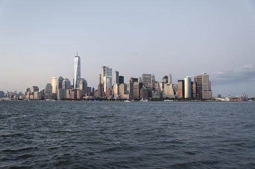 Usa, New York, Skyline, One World Trade Center