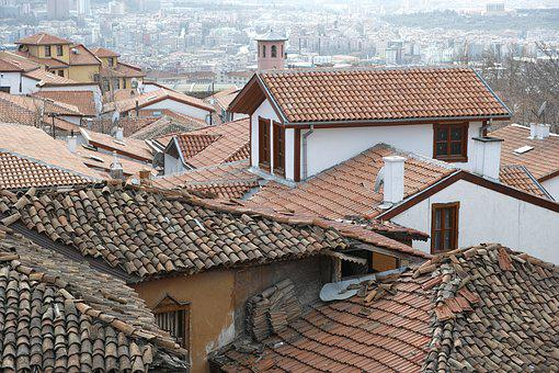 Old, Home, Slum, Tile, Roof, Historical Works, Houses