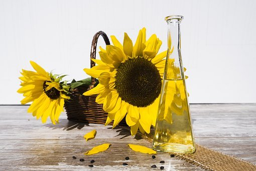 Oil, Sunflower Oil, Cooking Oil, Food, Nutrition, Cook