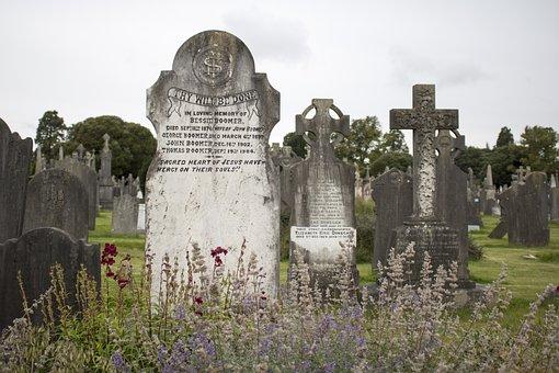 Glasnevin, Dublin, Ireland, Cemetery, Tombstone, Celtic